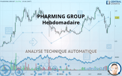 PHARMING GROUP - Hebdomadaire