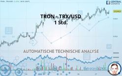 TRON - TRX/USD - 1 Std.