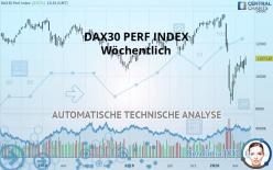 DAX30 PERF INDEX - Weekly