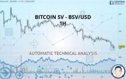 BITCOIN SV - BSV/USD - 1 Std.