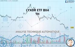 LYXOR ETF BX4 - 1H