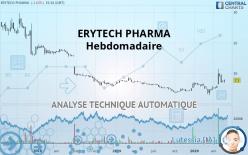 ERYTECH PHARMA - Hebdomadaire