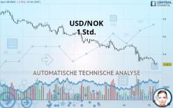 USD/NOK - 1 小时