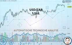 USD/ZAR - 1 Std.