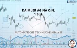 DAIMLER AG NA O.N. - 1 Std.