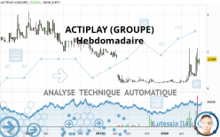 ACTIPLAY (GROUPE) - Hebdomadaire