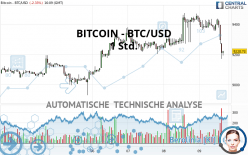 BITCOIN - BTC/USD - 1 Std.