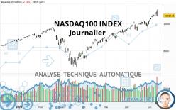 NASDAQ100 INDEX - Journalier