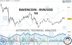 RAVENCOIN - RVN/USD - 1H