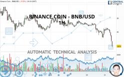 BINANCE COIN - BNB/USD - 1H