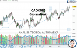 CAD/SGD - Giornaliero