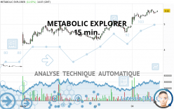 METABOLIC EXPLORER - 15 min.