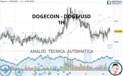 DOGECOIN - DOGE/USD - 1H