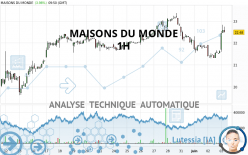 MAISONS DU MONDE - 1H