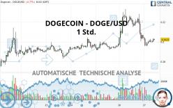 DOGECOIN - DOGE/USD - 1 Std.