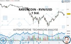 RAVENCOIN - RVN/USD - 1 Std.