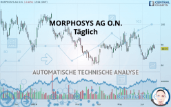 MORPHOSYS AG O.N. - Journalier