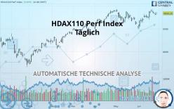 HDAX110 PERF INDEX - Täglich