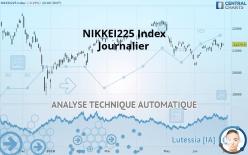 NIKKEI225 INDEX - Journalier