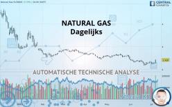 NATURAL GAS - Dagelijks