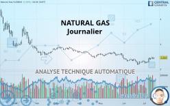 NATURAL GAS - Dagligen