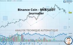 Binance Coin - BNB/USDT - Journalier