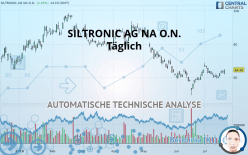 SILTRONIC AG NA O.N. - Journalier