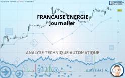 FRANCAISE ENERGIE - Journalier