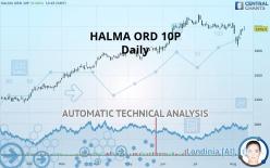 HALMA ORD 10P - Päivittäin