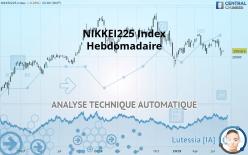 NIKKEI225 INDEX - Hebdomadaire