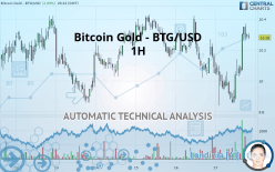 BITCOIN GOLD - BTG/USD - 1H