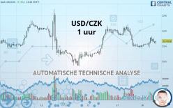 USD/CZK - 1 tim