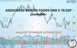 ASSOCIATED BRITISH FOODS ORD 5 15/22P - Journalier