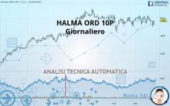 HALMA ORD 10P - Giornaliero