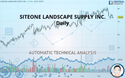 SITEONE LANDSCAPE SUPPLY INC. - Daily