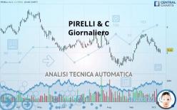 PIRELLI & C - Journalier