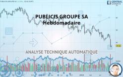 PUBLICIS GROUPE SA - Hebdomadaire