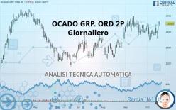 OCADO GRP. ORD 2P - Giornaliero