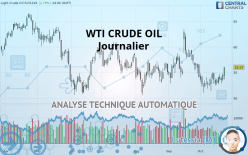 WTI CRUDE OIL - Journalier