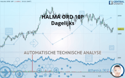 HALMA ORD 10P - Dagelijks