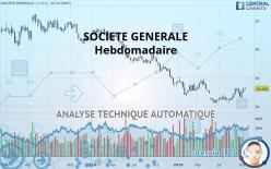 SOCIETE GENERALE - Hebdomadaire