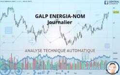 GALP ENERGIA-NOM - Journalier