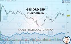G4S ORD 25P - Giornaliero