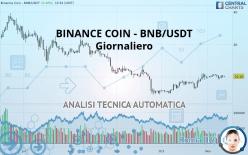 BINANCE COIN - BNB/USDT - Giornaliero