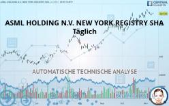 ASML HOLDING N.V. NEW YORK REGISTRY SHA - Diário