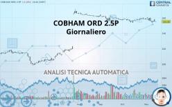 COBHAM ORD 2.5P - Giornaliero