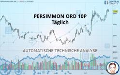 PERSIMMON ORD 10P - Täglich