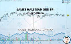 JAMES HALSTEAD ORD 5P - Giornaliero
