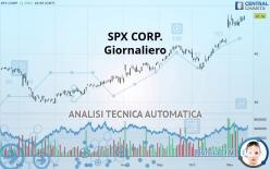 SPX CORP. - Diário