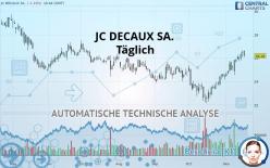 JC DECAUX SA. - Täglich